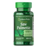 Puritan's Pride Saw Palmetto 450 mg 100/capsules