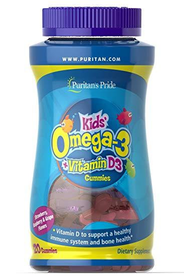 Puritan's Pride  Children's Omega-3 120 gummies