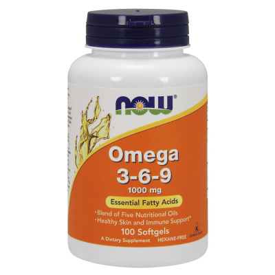 NOW Omega 3-6-9 100/softgels