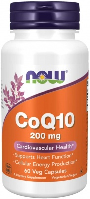 NOW CoQ10  200 mg 60/капс.