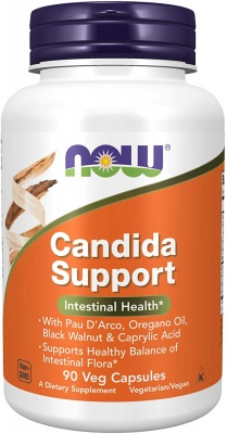 NOW Candida Support 90/капс.