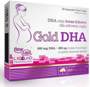 Olimp Gold-DHA 30/капс.