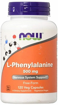 NOW L-Phenylalanine 500 mg 120/капс.