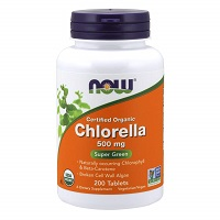 NOW Chlorella 500 мг 200/табл.