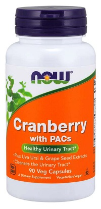 NOW Cranberry with PACs 90/капс.