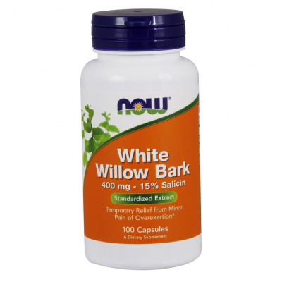 NOW Willow Bark Extract 400 mg 100/капс.