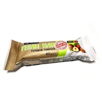 Power Pro Vegan Bar Sugar Free, 60/г