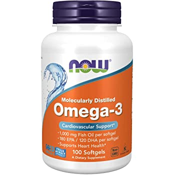 NOW Omega 3 1000 mg /100 softgels