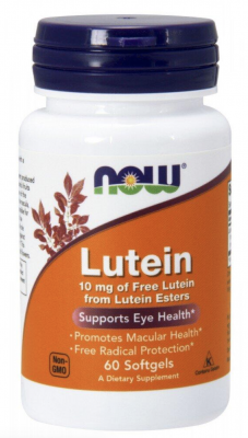 NOW Lutein 60/капс.