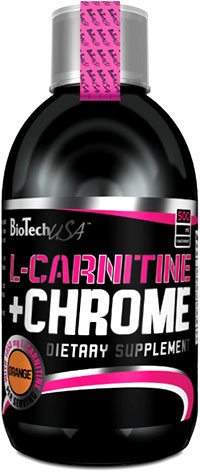 BioTech USA  L-Carnitine + Chrome concentrate 500/мл.