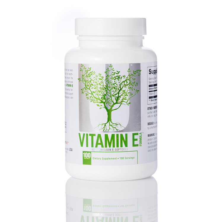 Universal Nutrition VITAMIN E 100/капс.