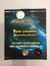 Gold Labs Pure Creatine Monohydrate 500/грам