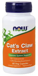NOW Cat's Claw 500mg 60/капс.