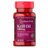 Puritan's Pride Red Krill Oil 500 mg 30/капс.