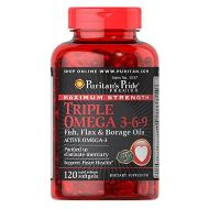 Puritan's Pride Triple Omega 3-6-9 120/softgels