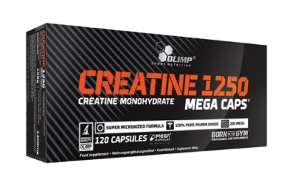 Olimp Creatine 1250 Mega Caps 120/капс.