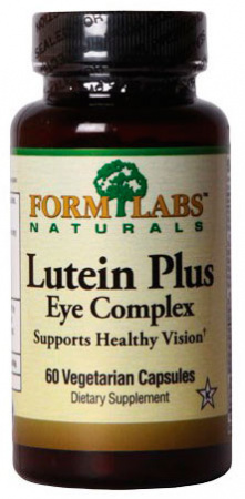 Form Labs  Lutein+Eye Complex